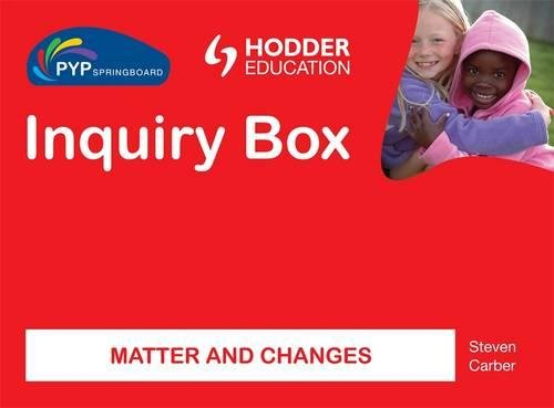 Matter & Changes Inquiry Box (Pyp Springboard)