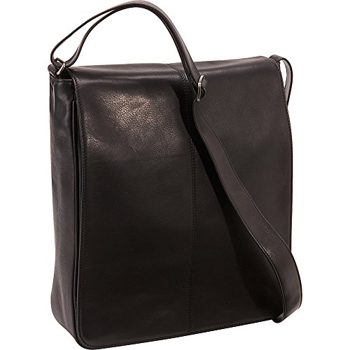 Osgoode Marley Cashmere European Messenger Bag (Black) by Osgoode Marley