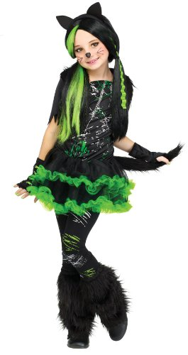 In Fashion Kids Tween Girl's Kool Kat Costume: Girl's Kitty Halloween Costume (8-10)