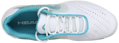 Head - Zapatillas pádel instinct ii team women, color blanco, talla blanco - White/Blue