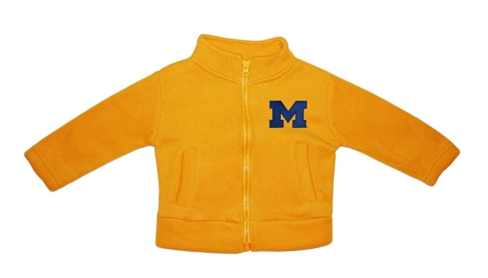 University of Michigan Wolverines Block M Baby Polar Fleece Jacket