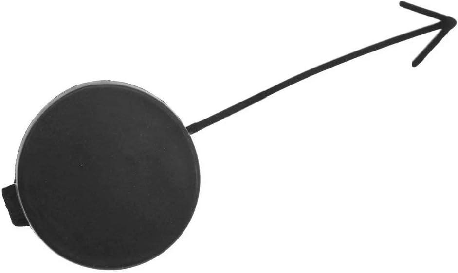 HonsCreat Front Plastic Tow Hook Cover for 2011-2014 Volkswagen Jetta 5C6807241 Black