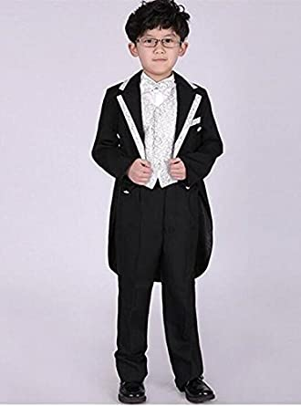 d7b1c54fc9717 フォーマル 5点フルセット PC002 男の子 タキシード (キャサリンコテージ) Catherine Cottage子供服