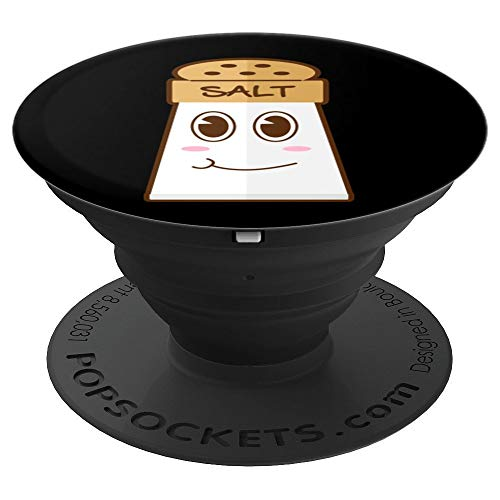 Funny SALT And Pepper Duo Valentines Halloween Easy Costume PopSockets Grip and Stand for Phones and Tablets