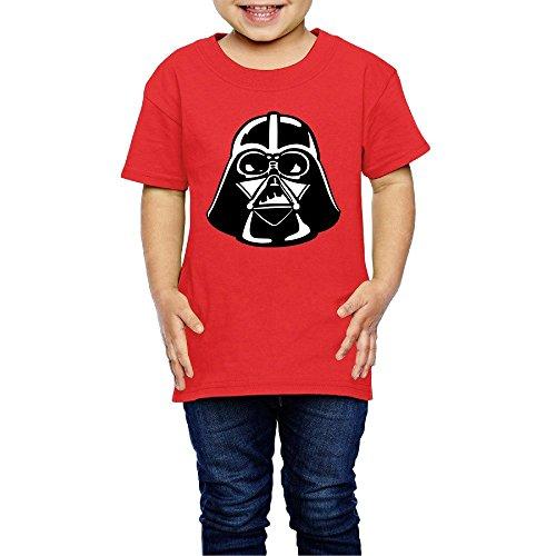 Darth Vader For Kids Unisex Tee (Darth Vader Pumpkin Carving)