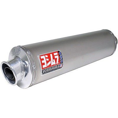 Yoshimura RS-3 Oval Race Polished Stainless Slip-On Exhaust for 2013 Honda CB11 - One Size (Race Ons Oval Slip)