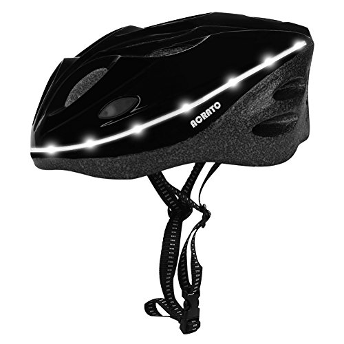 ACRATO-Kids-Bike-Helmet-Mens-Women-Sport-Bike-Helmet-LED-Safety-Helmet