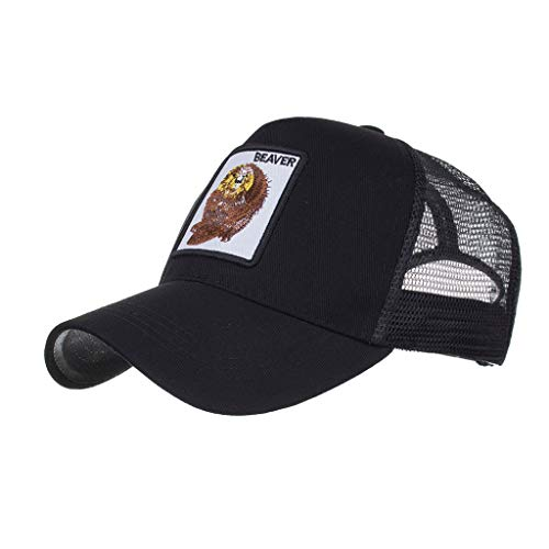 Unisex Breathable Mesh Back Baseball Caps for Women Men Boy Girl 100% Cotton Adjustable Embroidered Distressed Dad Hat (Free Size, ()