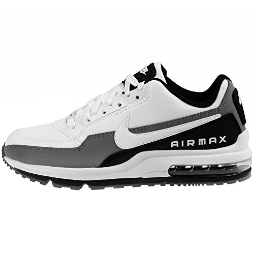 new style b3881 3d233 Galleon - Nike Mens Air Max Ltd 3 Running Shoes Black White Dark Grey  687977-119 Size 8.5
