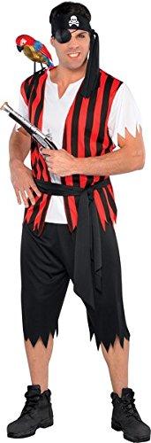 Ahoy Matey Standard Size (Ahoy Matey Mens Adult Costume)