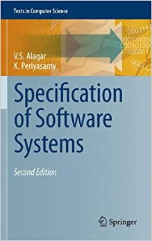 Specification of Software Systems (Texts in Computer Science)