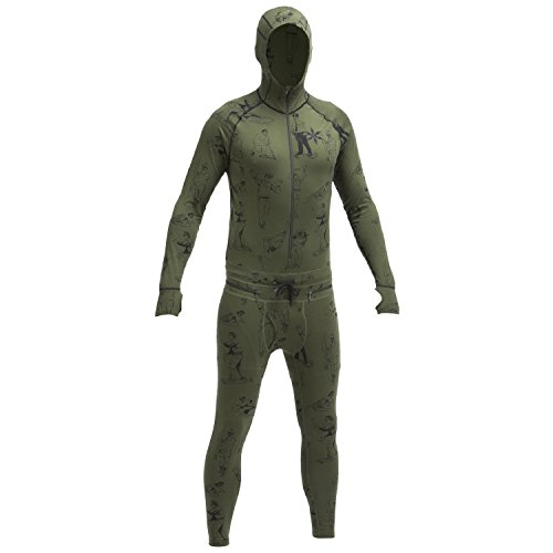Airblaster Classic Ninja Suit (Modern Athlete) Base Layer-Large by AIRBLASTER