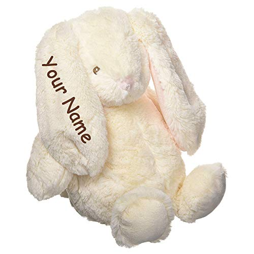GUND Personalized Baby Thistle Bunny Cream Color Sitting