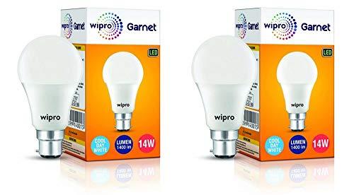 PARAS MIRACLE JESMIN ENTERPRISE_Wipro Garnet LED Bulb 14W 6500K B22- (Cool Day White)