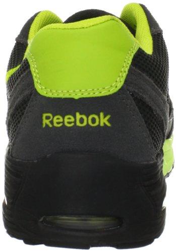 Reebok Work Mens Beviad Rb4720 Esd Scarpa Antinfortunistica Grigio / Verde