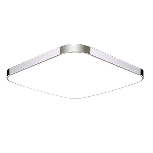 MCTECH 18W Lámpara de Techo Blanco Frio de la Lámpara Moderna Para el Dormitorio Lámpara de