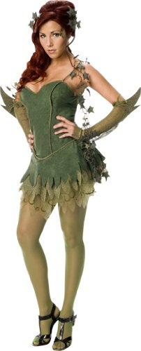 Costume Poison Halloween Ivy (Secret Wishes Batman Poison Ivy Costume, Green,)