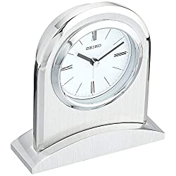 Seiko QHE163SLH Contemporary Desk Alarm Clock