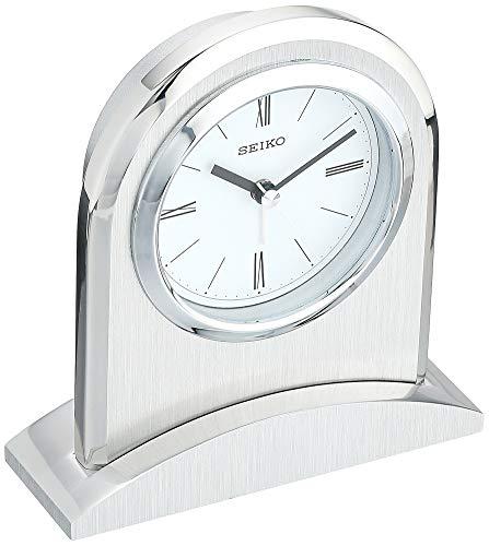 Seiko QHE163SLH Contemporary Desk Alarm Clock