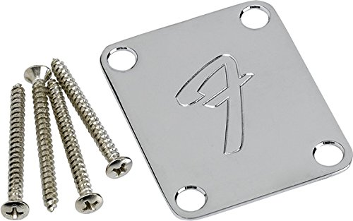 Fender F Neckplate Chrome (Fender Genuine)