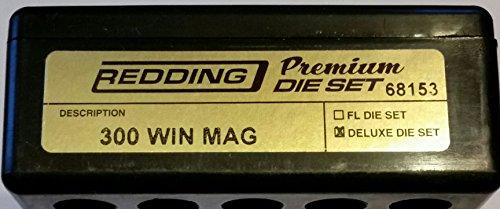 Redding Premium Series Deluxe 3-Die Set 300 Winchester Magnum by Redding