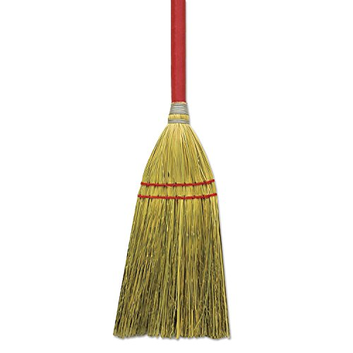 "Boardwalk Blended Straw Toy Broom, Red Headband, 24"" Red ..."