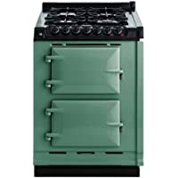 AGA TCDCNGM 24 Inch Wide 2.63 Cu. Ft. Slide In Gas Integrated Module Range for A, Pistachio