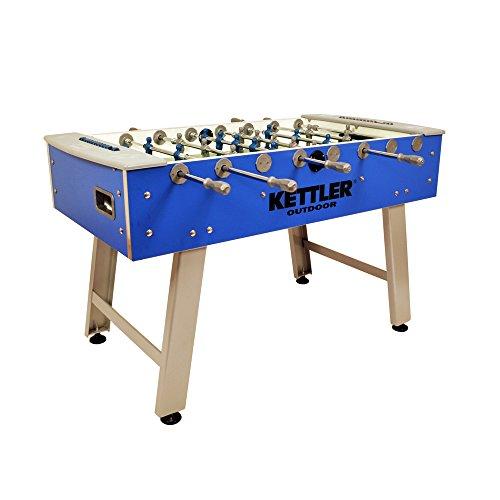 Kettler Weatherproof Indoor/Outdoor Foosball/Soccer Game Table