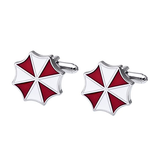 Salutto Men's Resident Evil Cufflinks with Gift Box