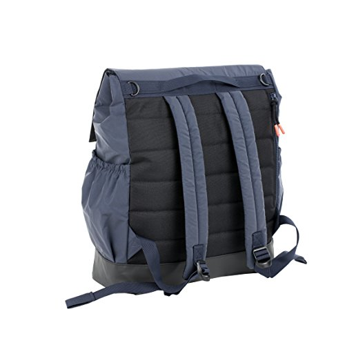 Lassig Vintage Little One & Me Backpack Big Refle Countive, Navy