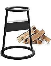 Firewood Kindling Splitter Racker, Cast Iron Firewood Log Splitter, Wedge Firewood Cutter Wood Splitting, Firewood Splitter Tool for Home Campsite Outdoors (1PCS)