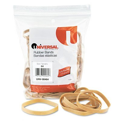 Universal 00464 64-Size Rubber Bands, 3 Pack