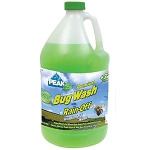 PEAK (PGN0K3-6PK) ECO Premium Bug Wash with Rain-Off - 128 oz., (Pack of 6)