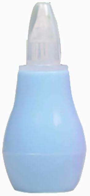 Bebé aspirador nasal aspirador nasal de silicona seguridad higiénica mocos de bombas y nariz chupar Booger del lechón para los recién nacidos y lactantes (azul) 1 pc: Amazon.es: Bebé