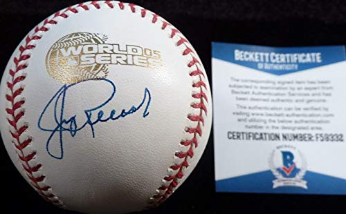 Beckett-bas Jerry Reinsdorf Autographed-signed 2005 World Series Game Baseball 2 - Beckett ()