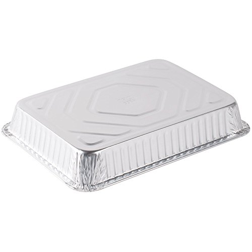 Durable Packaging Disposable Aluminum Cake/Baking Pan, 13'' x 9'' (Pack of 250) by Durable Packaging (Image #2)