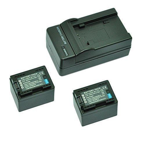 HF R47 HF M500 HF R66 HF R36 MP power @ 2X Reemplazo Li-ion bater/ía BP727 BP-727 2685mah 3.6V HF R67 HF M52 HF R68 HF R57 cargador para Canon videoc/ámara LEGRIA // VIXIA HF M50 HF R48 HF R37 HF R38 HF M56 HF M506 HF R46 HF R56