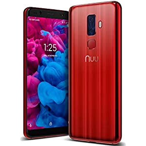 "41mYFWjuoML. SS300 - NUU Mobile G3 Unlocked Cell Phone 64GB + 4GB RAM - 5.7"" Android Smartphone - Ruby Red NUU Mobile G3 Unlocked Cell Phone 64GB + 4GB RAM – 5.7″ Android Smartphone – Ruby Red 41mYFWjuoML"