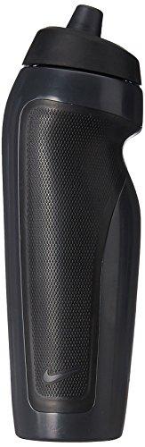 Squeeze Sport Water Bottle 600Ml, Único, Preto