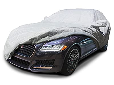 CarsCover Custom Fit Jaguar XF Car Cover Heavy Duty Weatherproof Ultrashield Covers