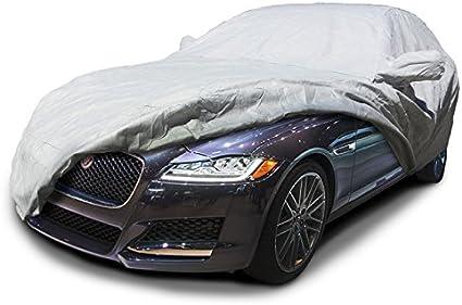 JAGUAR XE 2015 ON WATERPROOF CAR COVER HEAVYDUTY COTTON LINED INDOOR OUTDOOR