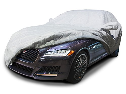 CarsCover Custom Fit 2009-2018 Jaguar XF Car Cover Heavy Duty Weatherproof Ultrashield Covers by CarsCover