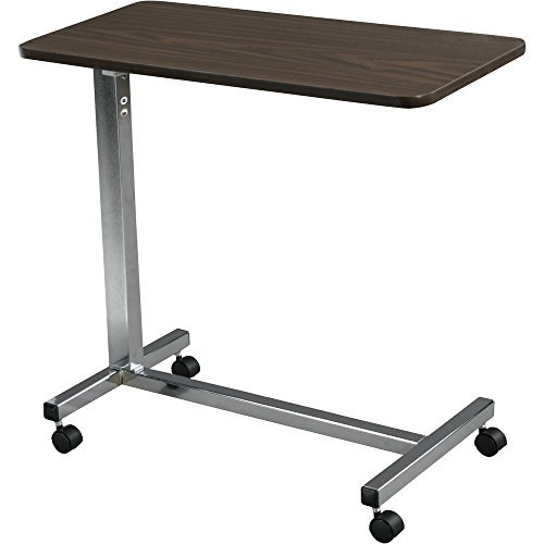 DELUXE Overbed Table with Chrome Finish