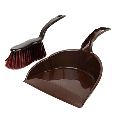 haoun Mini Clean Team Brush and Dustpan Set Household Small Cleaning Whisk Broom
