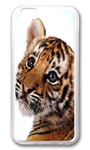 iPhone 6 Case,VUTTOO Stylish Tiger Cub Soft Case For Apple iPhone 6 (4.7 Inch) - TPU Transparent