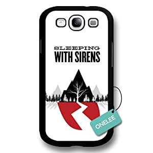 Onelee(TM) - Customize Black Cute Popular Rock Band SWS Sleeping with Sirens Samsung Galaxy S3 Case & Cover - Black 2