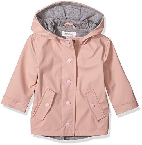 Gymboree Baby Girls Long Sleeve Woven Hodded Jacket, Pink Blossom, 3-6 Mo ()