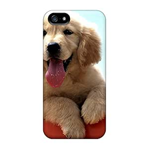 High Quality Golden Labrador Puppy Case For Iphone 5/5s / Perfect Case by icecream design