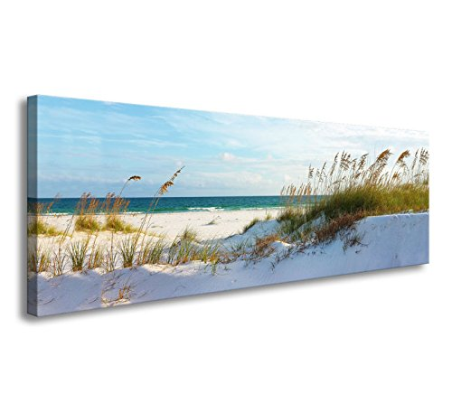 Framed Scene Beach - youkuart Canvas Wall Art sea Beach Stretched and Framed Ready to Hang, Canvas Art for Home Decoration xm014