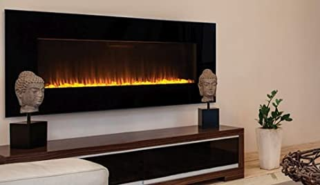 "Amazon.com: Superior ERC4060 60"" Linear Electric Fireplace: Home & Kitchen"